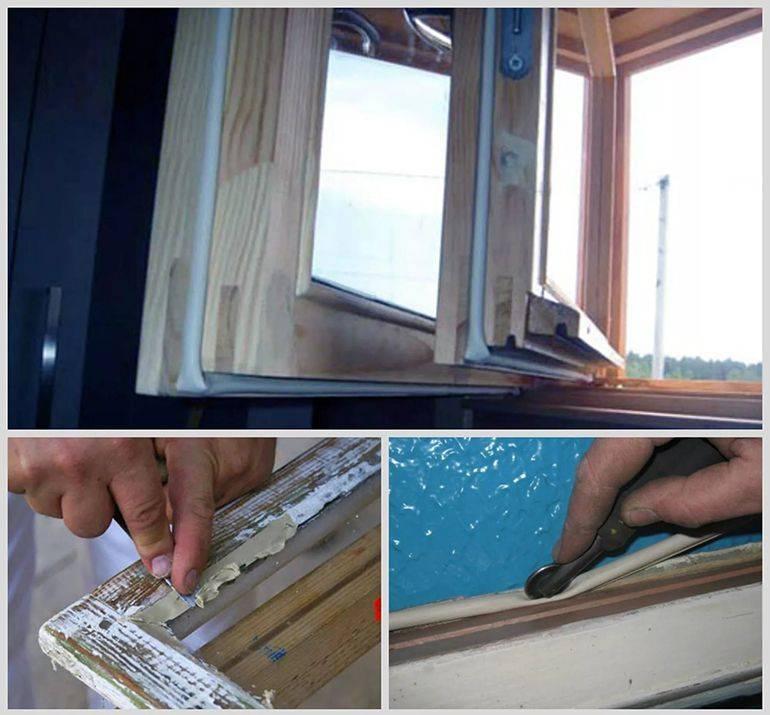 Ремонт и утепление старых деревянных окон по шведской технологии своими руками