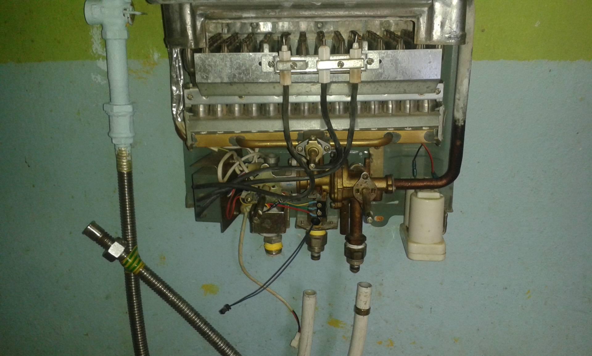 Ремонт газовой колонки своими руками на дому