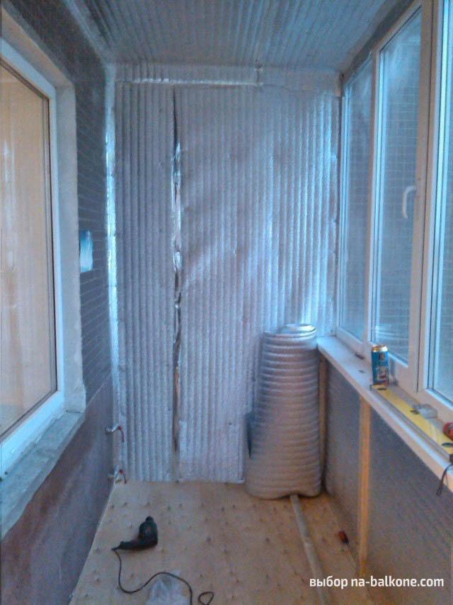 Обшивка балкона пвх-панелями изнутри: двойная выгода