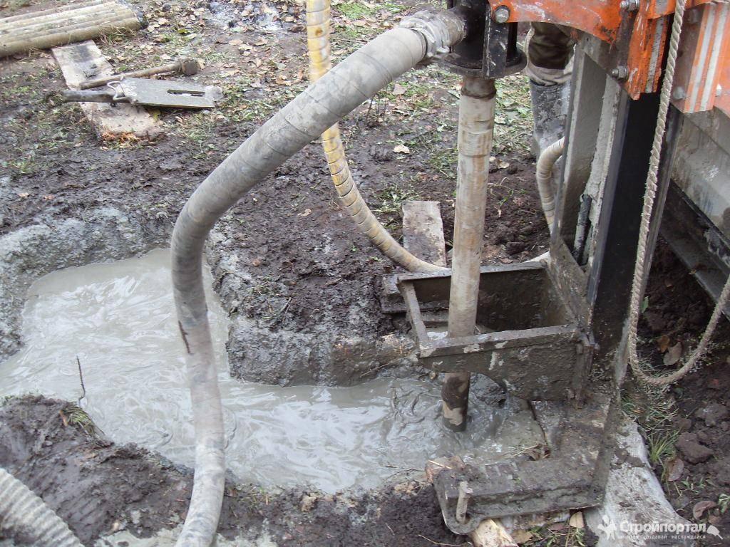 Технология гидробурения скважин на воду своими руками
