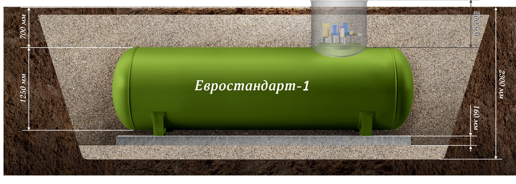 Отопление сжиженным газом: отзывы. газгольдер для частного дома