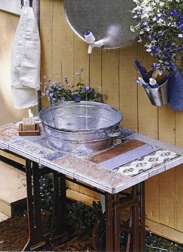 Дачный умывальник с подогревом воды (48 фото): садовый рукомойник для дачи из «нержавейки», модели «акватекс»