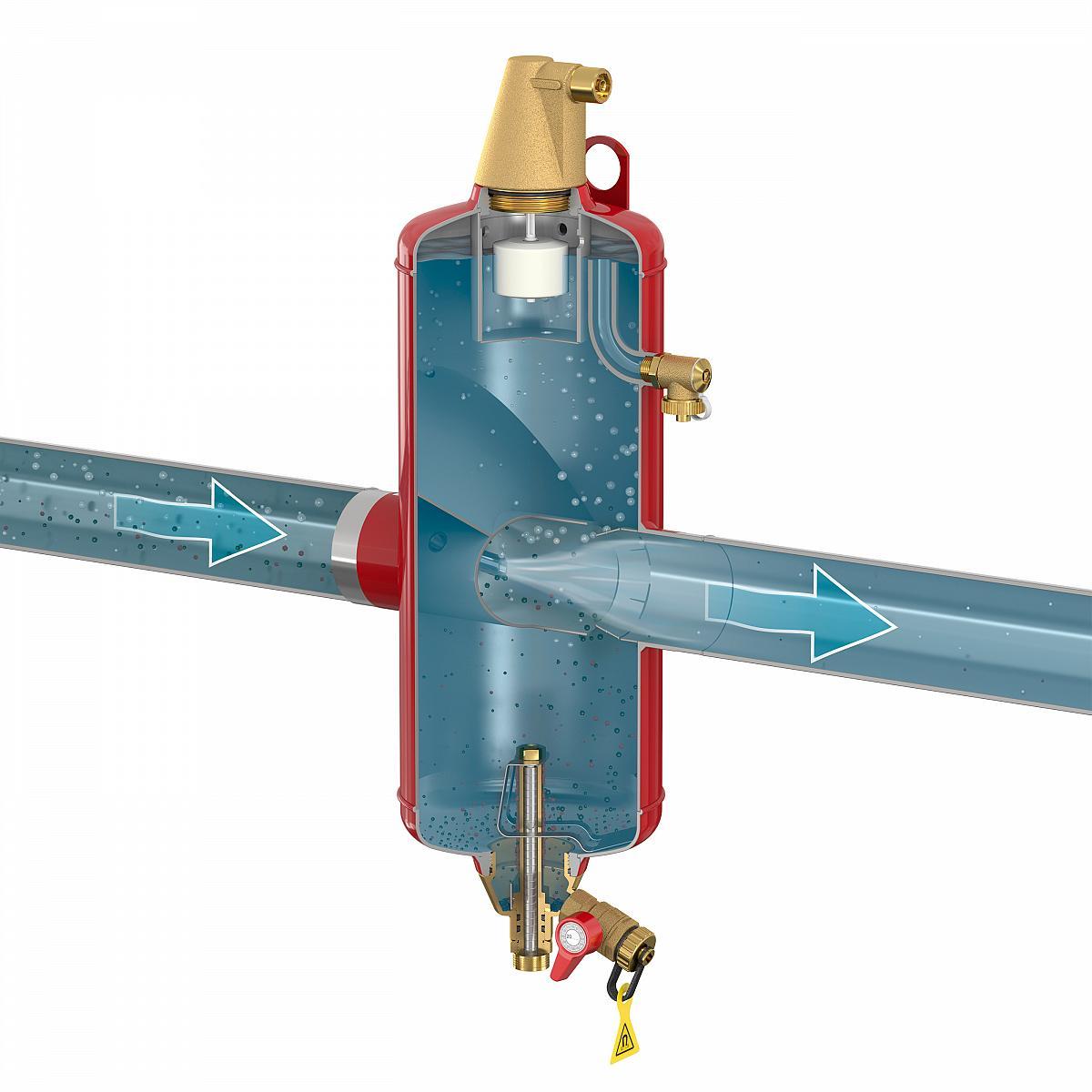 Удаление воздуха из системы отопления - всё об отоплении и кондиционировании