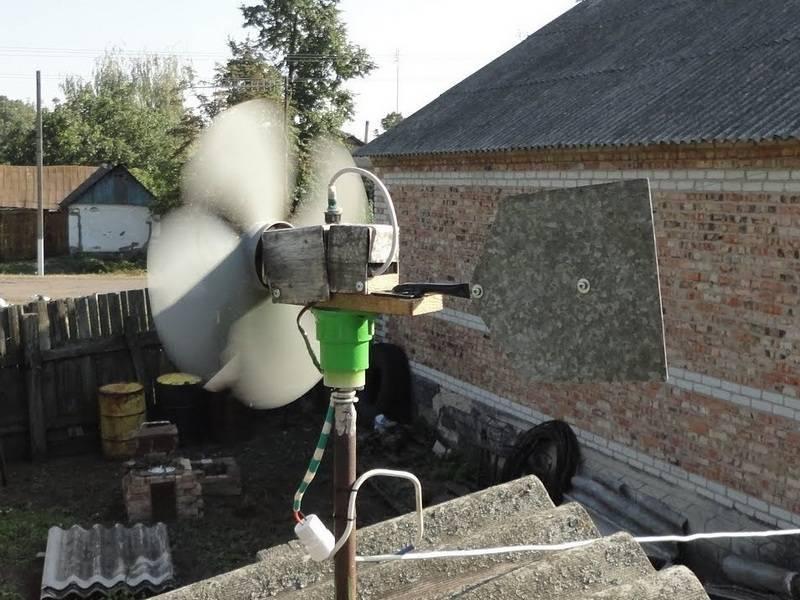 Изготовление ветрогенератора своими руками в домашних условиях