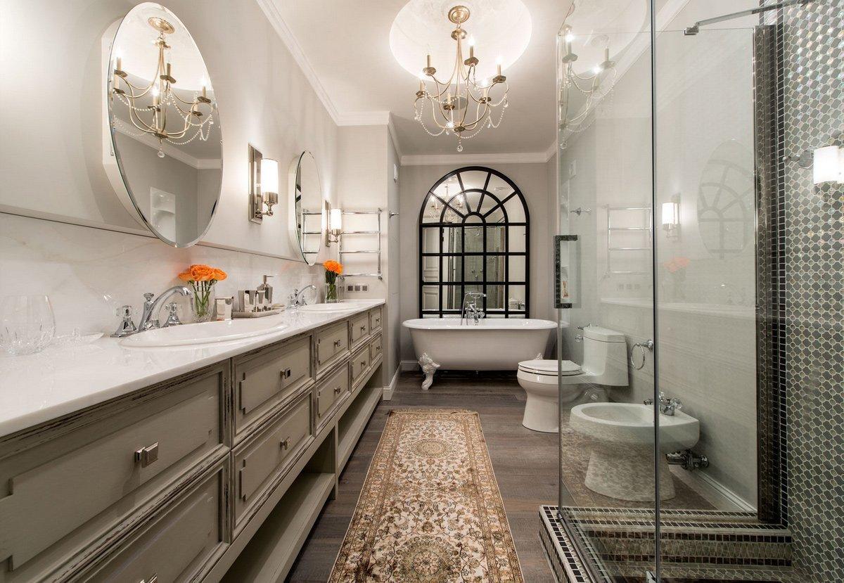 Интерьер ванной комнаты в современном стиле: 60 лучших фото и идей для дизайна