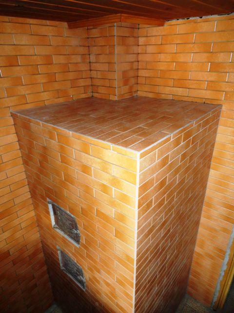 Как добротно облицевать печь керамической плиткой