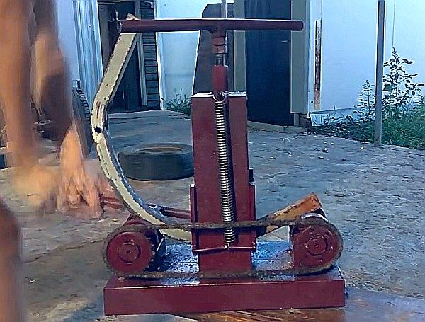 Изготовление самодельного трубогиба