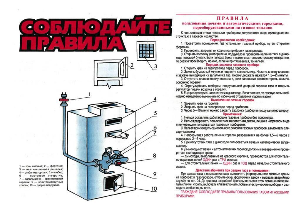 Самостоятельная установка газовой колонки: нормы и правила
