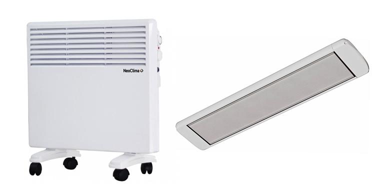 Электрический конвектор или инфракрасный обогреватель: что лучше, экономичнее, эффективнее?