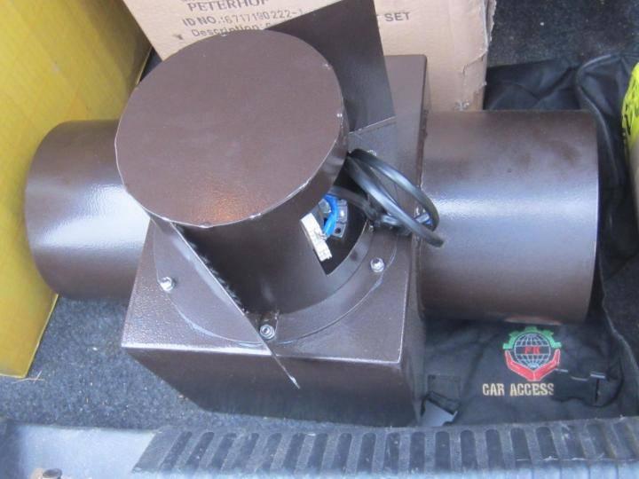 Вентилятор в дымоходе для принудительной вытяжки газов из печи