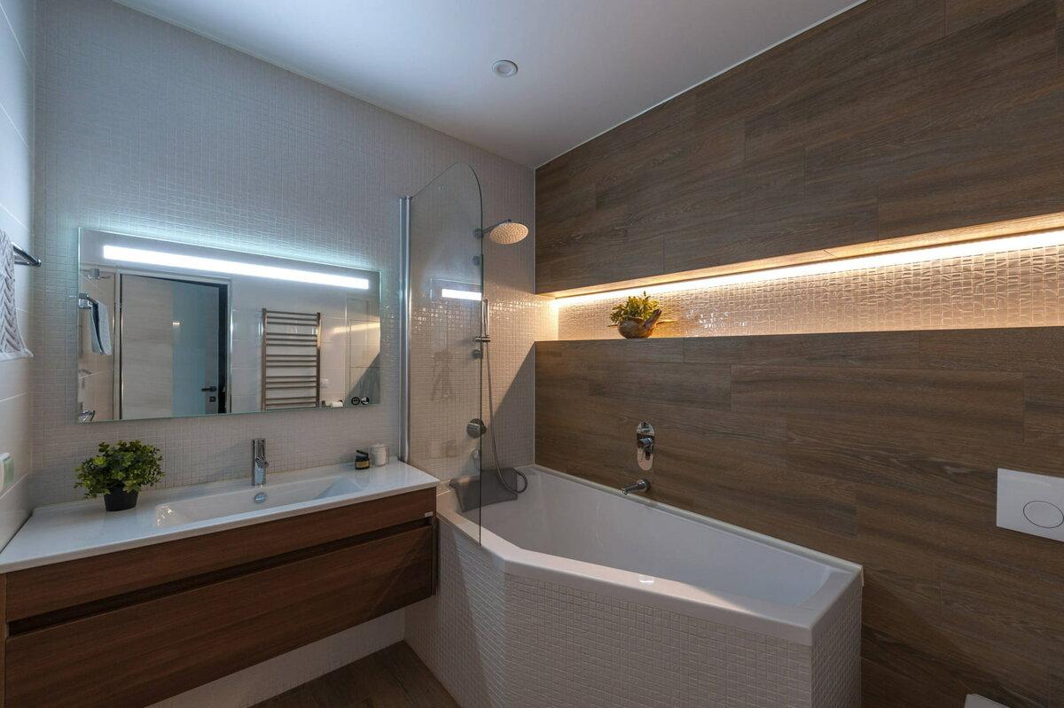 Освещение в ванной комнате - 50 фото идей, советы + видео