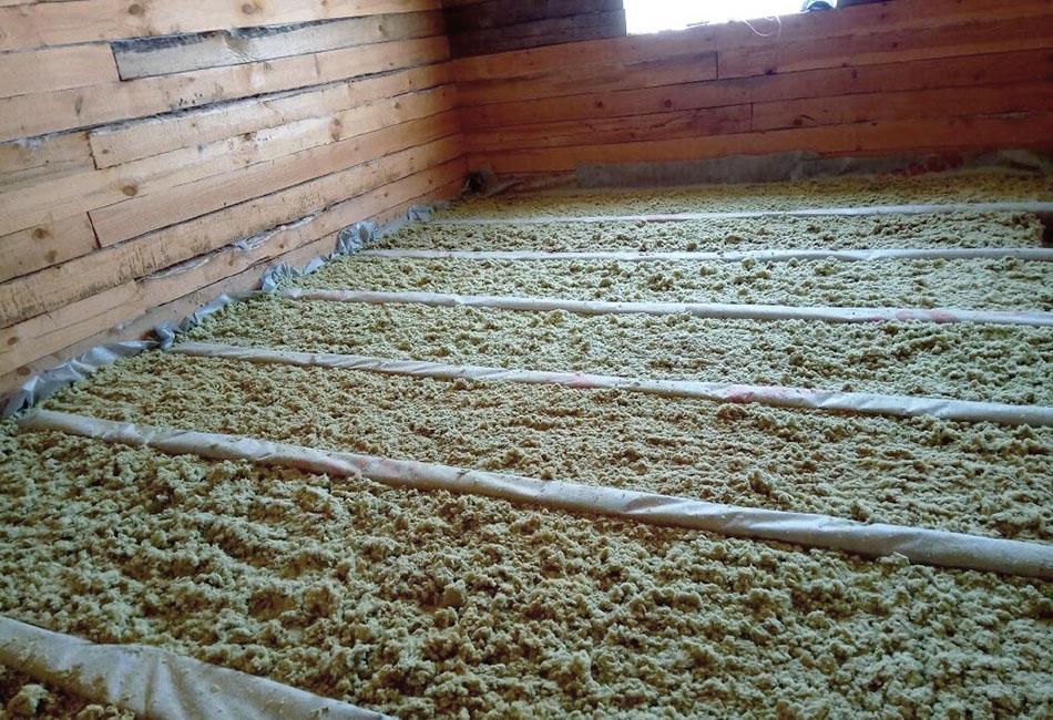 Утепляем потолок керамзитом: преимущества материала