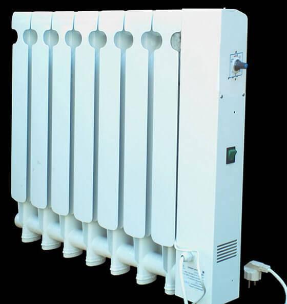 Конструкция электрорадиаторов отопления