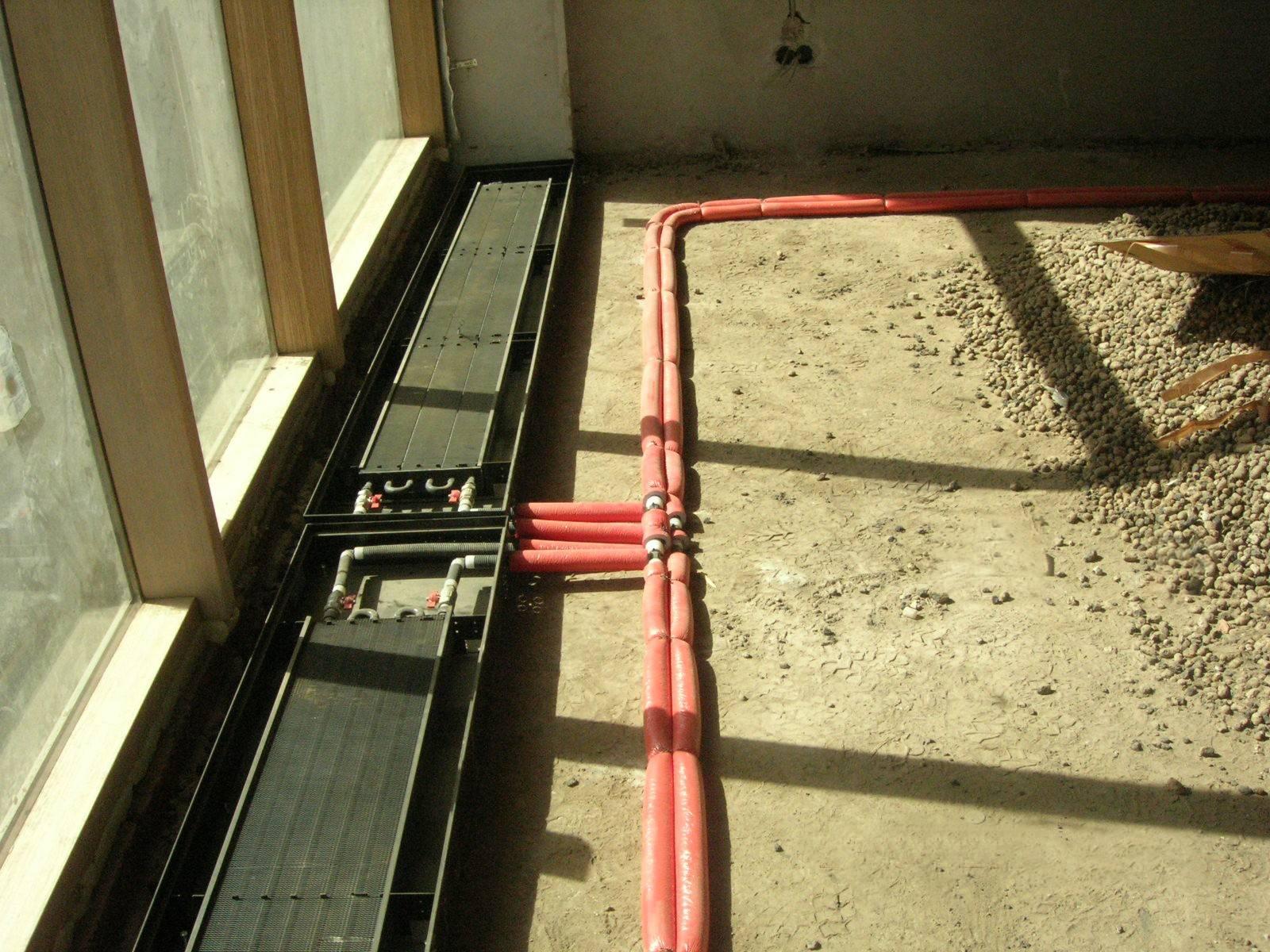 Монтаж и установка внутрипольных конвекторов: цены, рекомендации, описание