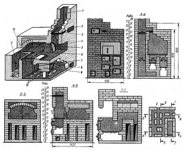 Печь камин с лежанкой: 50 невероятных дизайнов