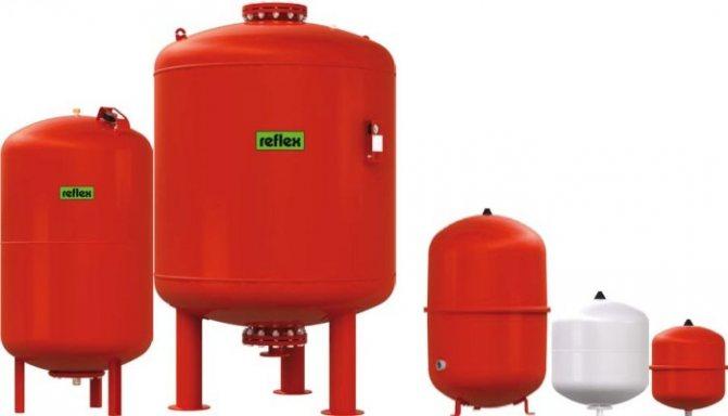 Мембранный расширительный бак для отопления - домэконом