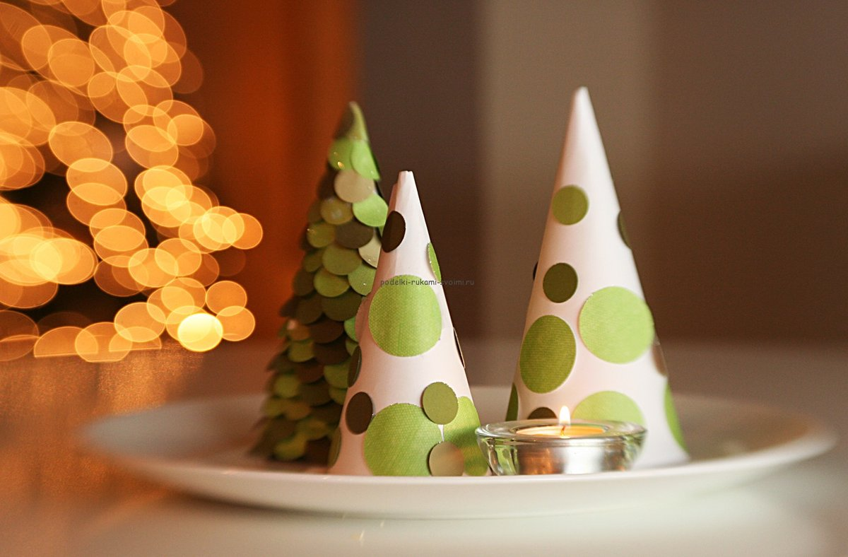 Новогодняя елка своими руками: 2 мастер-класса с пошаговыми фотографиями