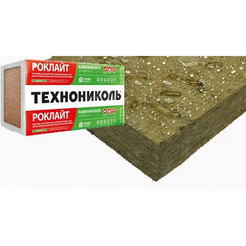 Обзор каменной ваты производства компании технониколь