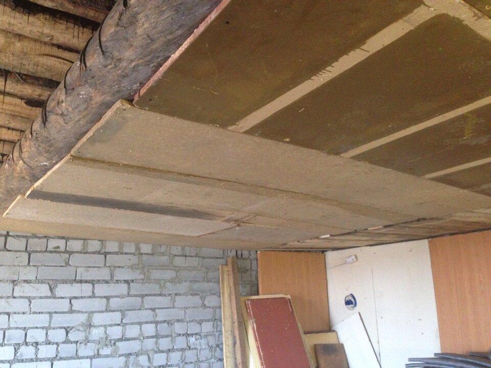Как утеплить потолок в гараже, чем лучше это сделать, утепление бетонной потолочной поверхности своими руками: инструкция, фото и видео-уроки, цена