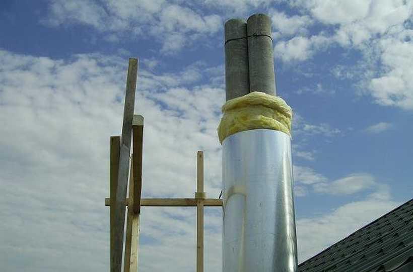 Дымоход из асбестовой трубы: возможные риски использования