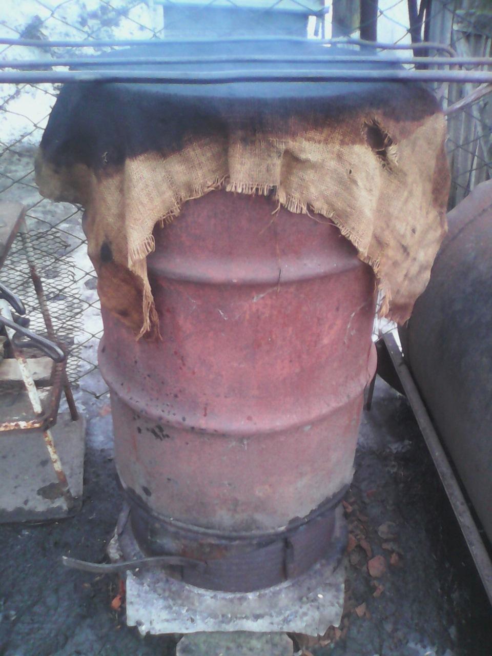 Коптильня холодного копчения из бочки