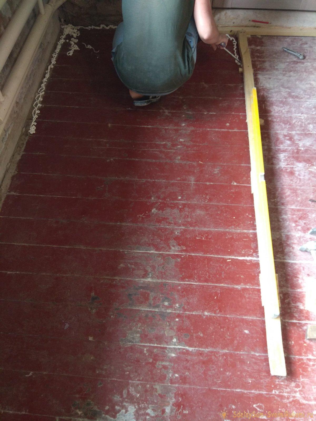 Утепление бетонного пола пеноплексом без стяжки | советы по ремонту
