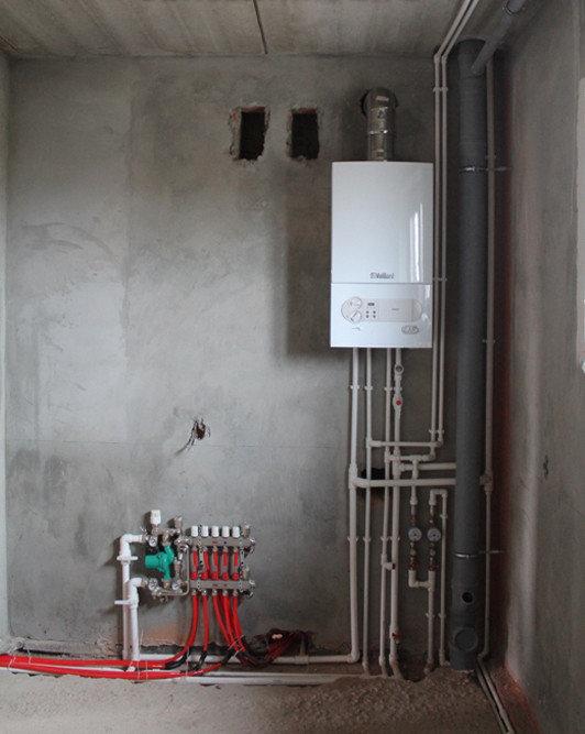 Как сделать теплый пол от газового котла своими руками?
