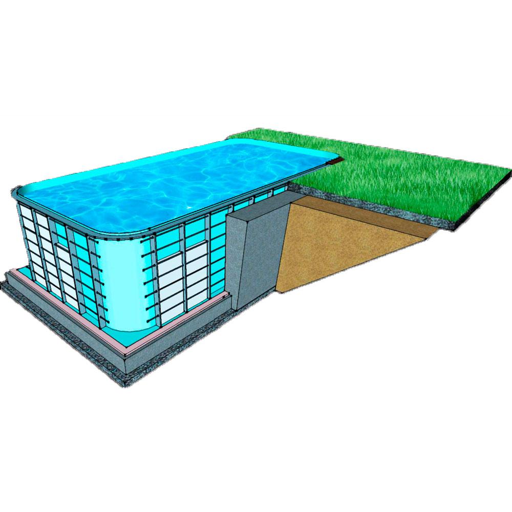 Инструкция по утеплению бассейна: чем утеплять лучше?