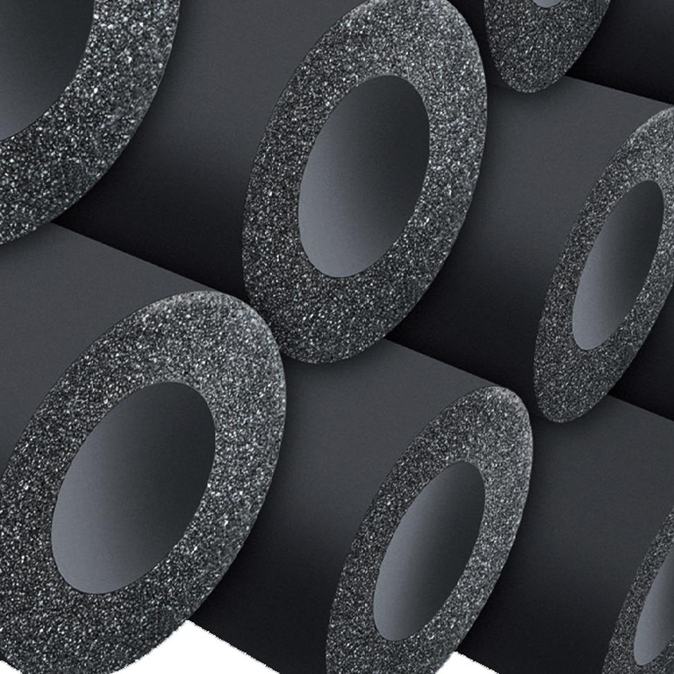 Материалы из вспененного каучука. утепление трубопроводов: вспененный каучук