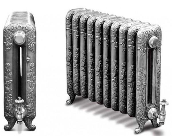 Ретро радиаторы: советы по выбору дизайнерских батарей под старину