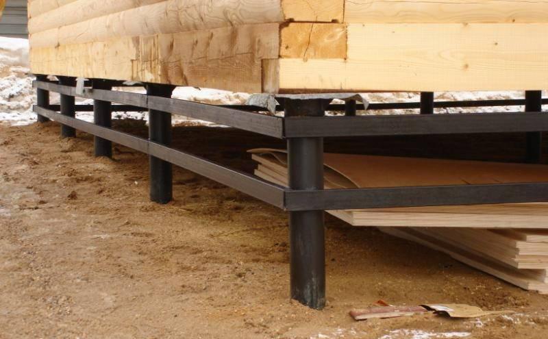 Утепление пола в деревянном доме на винтовых сваях: как правильно утеплить снизу