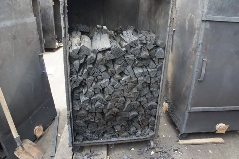 Производство древесного угля: технология, оборудование