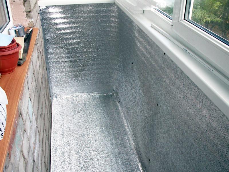 Гидроизоляция потолка балкона изнутри своими руками, конденсат на потолке балкона