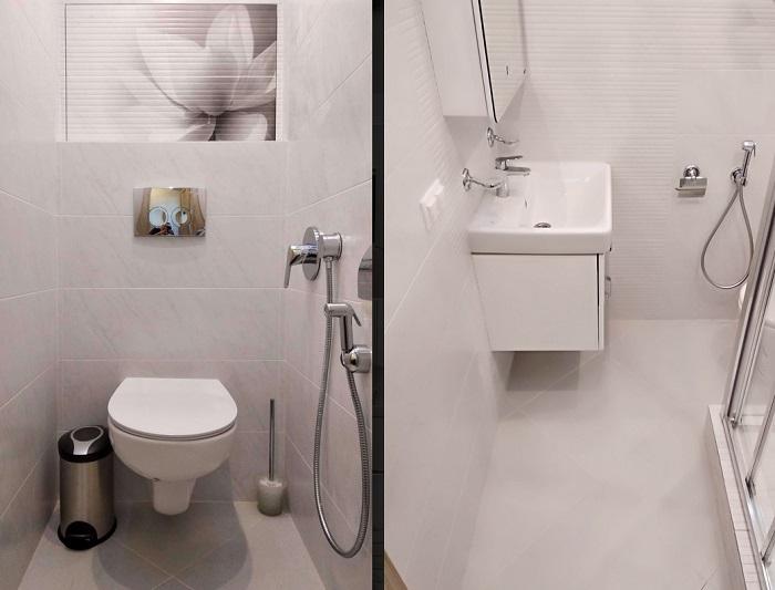 Туалет и ванная раздельно или вместе: что лучше сделать