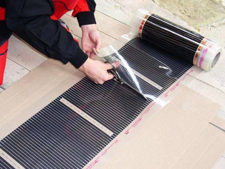 Карбоновый теплый пол (графитовый): основные характеристики, технология монтажа и подключения
