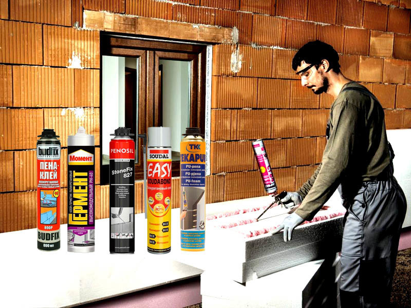 Чем покрасить пенопласт внутри и снаружи помещения, критерии выбора краски