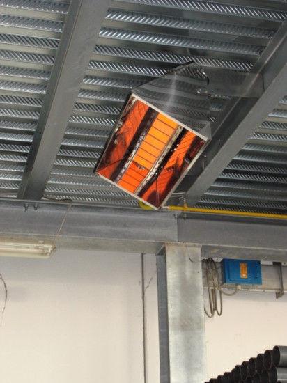 Промышленные инфракрасные обогреватели — газовые и электрические
