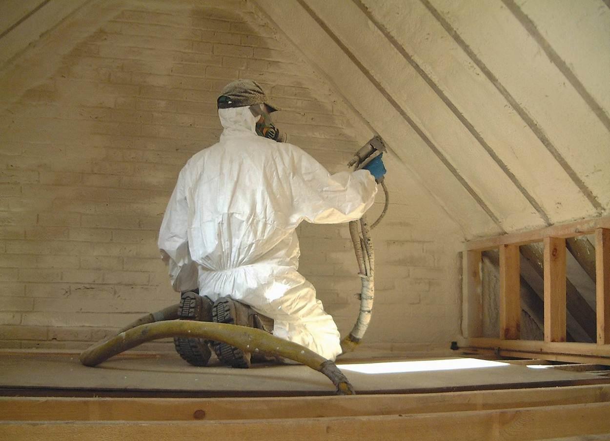 Утепление крыши пенополиуретаном своими руками | o-builder.ru