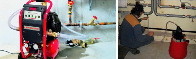 Как промыть систему отопления: 5 способов промывки