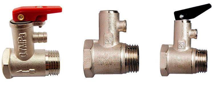 Как установить предохранительный клапан для водонагревателя, инструкции и видео урок