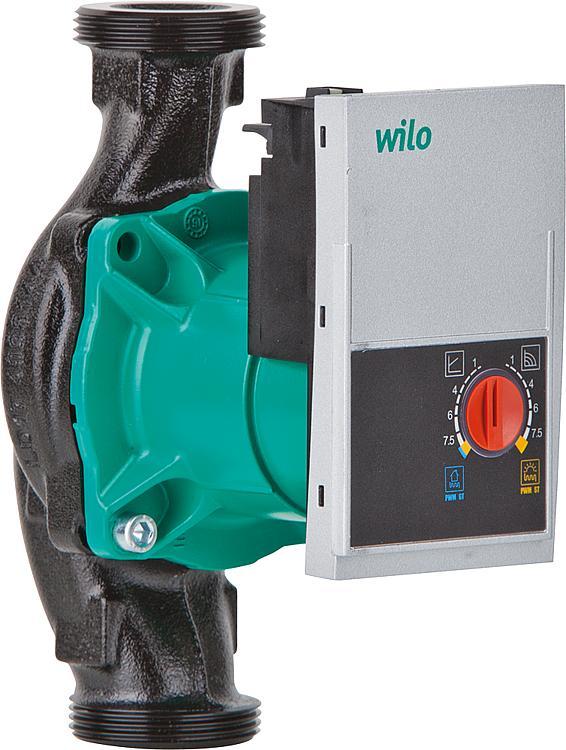Циркуляционные насосы wilo: модельный ряд продукции