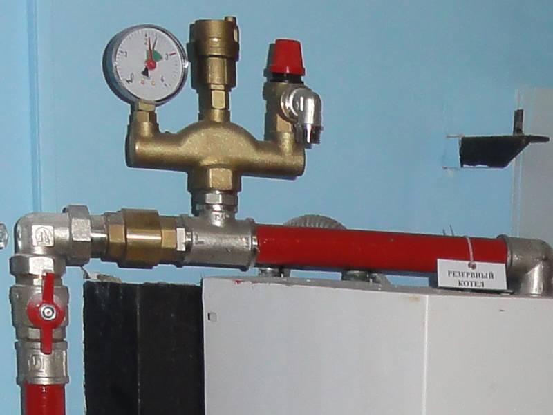 Группа безопасности котла в системе отопления