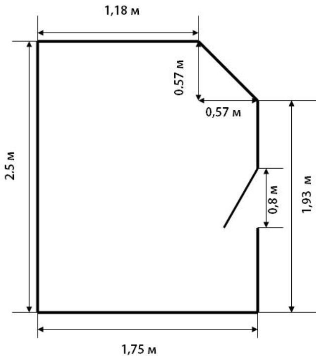 Как посчитать квадратные метры пола - формулы, примеры расчетов, инструкция