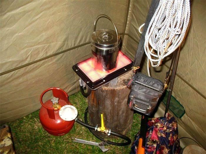 Какой обогреватель для палатки выбрать