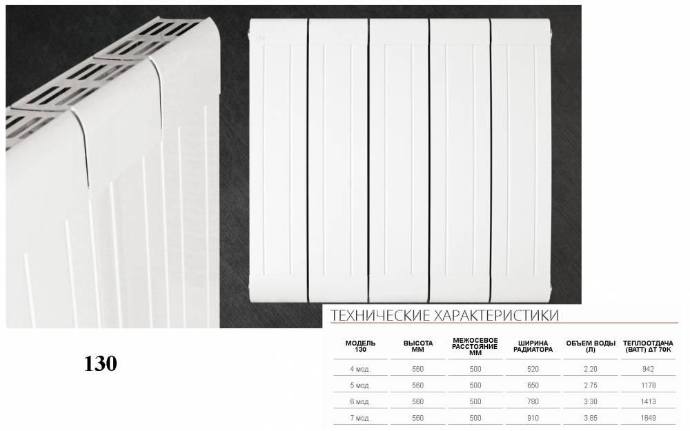 Биметаллические радиаторы отопления: критерии выбора