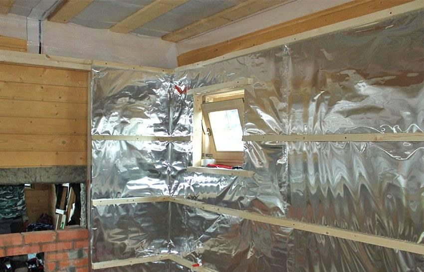 Алюминиевая фольга для утепления бани: миф теплоизоляции или гениальная реальность?
