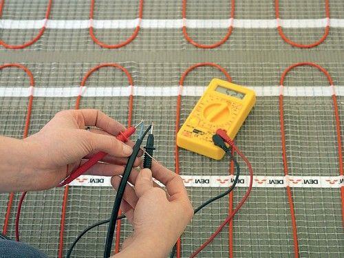 Особенности ремонта теплого электрического пола