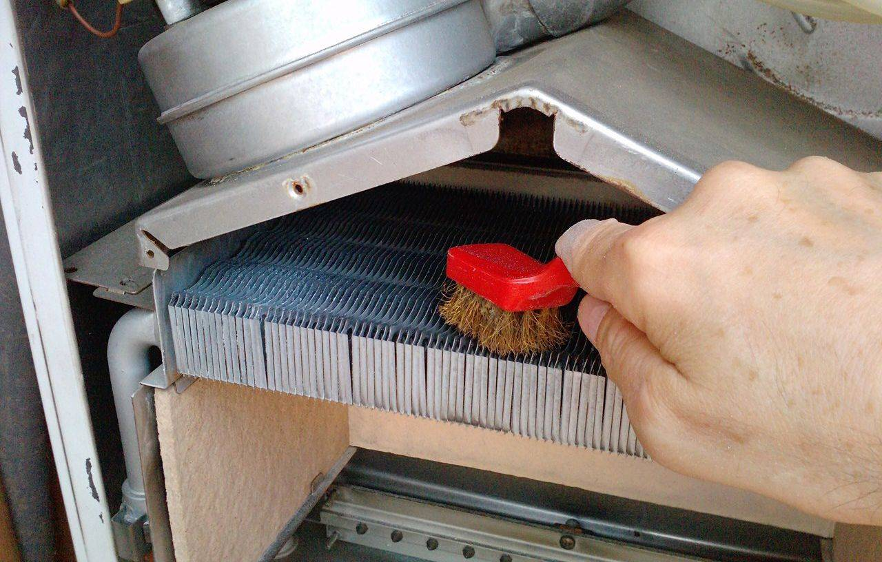 Промывка (чистка) теплообменника газового котла своими руками