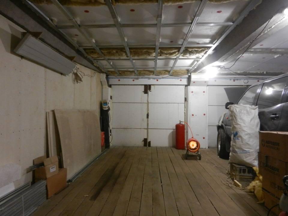 Утепление крыши гаража изнутри и снаружи своими руками: тонкости строительных работ