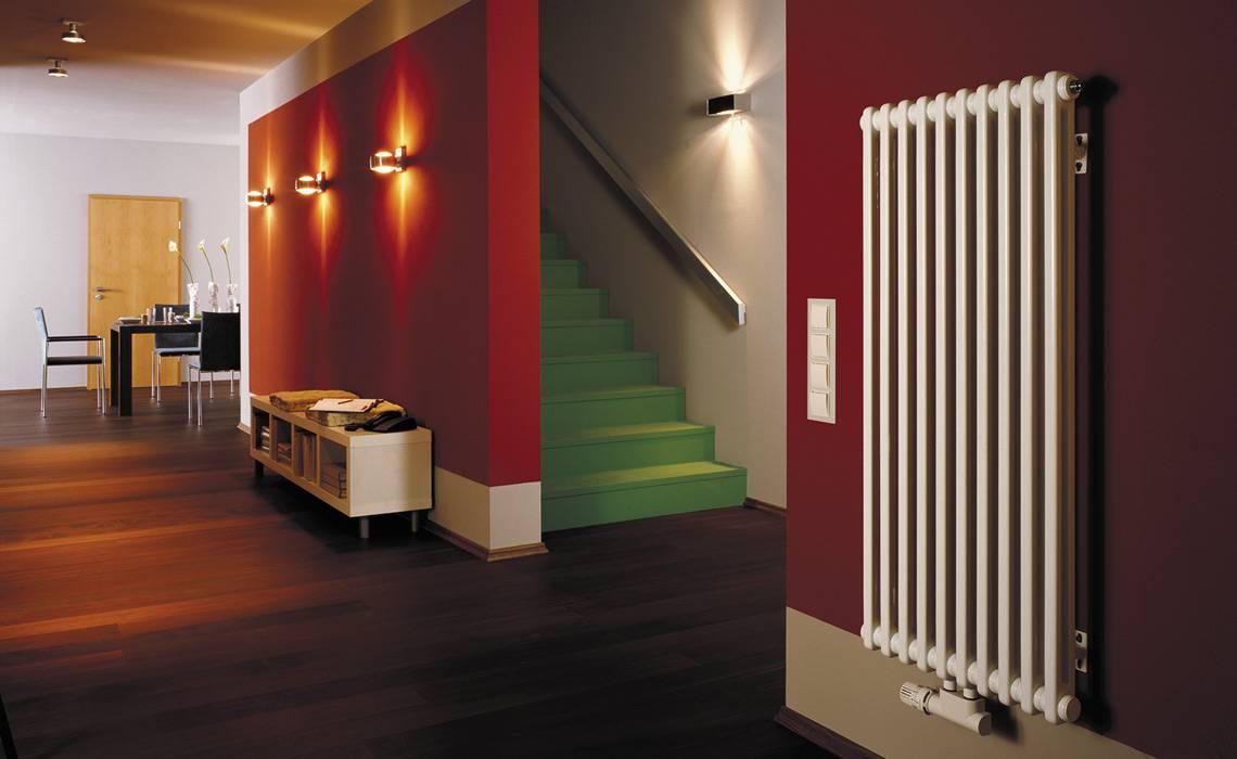 Преимущества и недостатки вертикальных радиаторов отопления - точка j